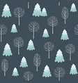 winter seamless christmas pattern for design vector image