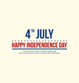 independence day background style vector image vector image