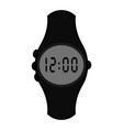 isolated digital wristwatch icon vector image vector image