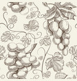 natural floral decorative seamless pattern vector image vector image