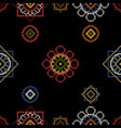 needlework seamless pattern for clothes vector image vector image