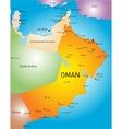 Oman country vector image vector image
