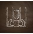 prisoner icon vector image vector image