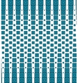 Seamless pattern with halftone squares vector image
