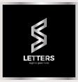 super rate logo - letter s vector image vector image