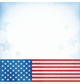USA patriotic background vector image vector image