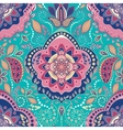Vintage indian seamless wallpaper vector image vector image