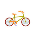 bicycle transport flat icon design vector image
