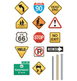 Highway signs vector | Price: 1 Credit (USD $1)