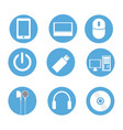 icons technology vector image vector image