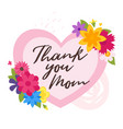 mother day design template vector image vector image