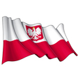 Poland State Flag vector image