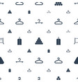 rack icons pattern seamless white background vector image vector image