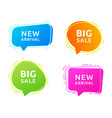sales badges for labels vector image