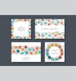 collection holiday greeting cards happy easter vector image vector image