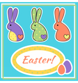 eastercard vector image