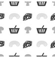 food shop seamless pattern vector image