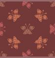openwork butterflies vector image