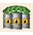 Petroleum price design vector image vector image