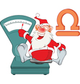 Santa Claus Astrological Sign in the Zodiac vector image