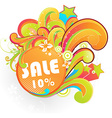 Summer Sale Sticker vector image