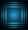 technology future light stripe frame vector image vector image