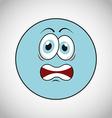 smiley faces design vector image