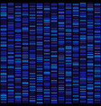 blue dna sequence results on black seamless vector image vector image