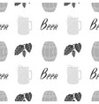brewery seamless pattern vector image