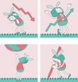 Cartoon Characters TVTOON 3 vector image