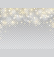 glowing light effect border star burst with white vector image vector image