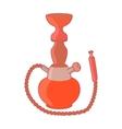 Hookah icon in cartoon style vector image vector image