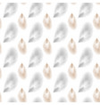 seamless feather pattern seamless background with vector image vector image