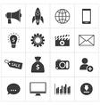digital marketing icon vector image