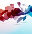 Liquid surrealistic 3D elements hanging vector image