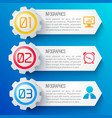 business web design banners vector image vector image