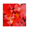 candy apple red abstract low polygon background