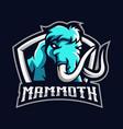 mammoth sport logo vector image vector image