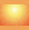 orange checkered tiled background vector image