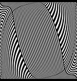 striped lines pattern vector image vector image