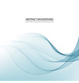 blue line background curve layer with white vector image vector image