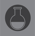 Chemical glass vector image