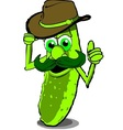 Cowboy Pickle vector image