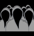 hood without person vector image
