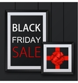 modern black friday background vector image vector image