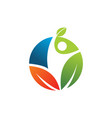 nature life style for natural healthy logo