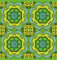 oriental beautiful ornament mandala seamless hand vector image vector image