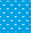 pyramids in giza pattern seamless blue vector image vector image