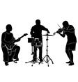 musicians vector image
