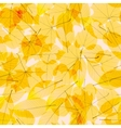 Transparent Autumn Leaves plus EPS10 vector image vector image